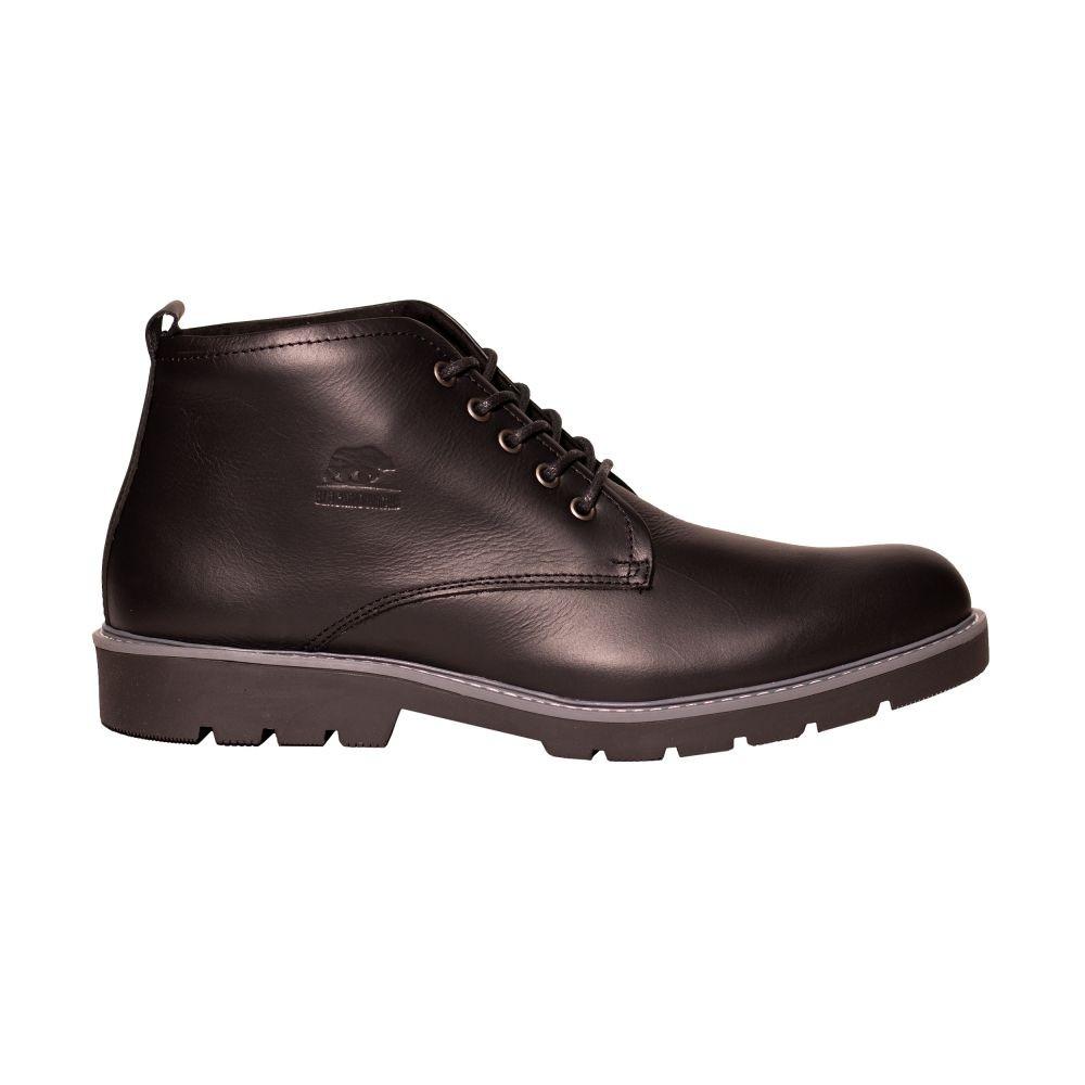 Calzado de Cuero para Hombre BM21274-NEGRO...